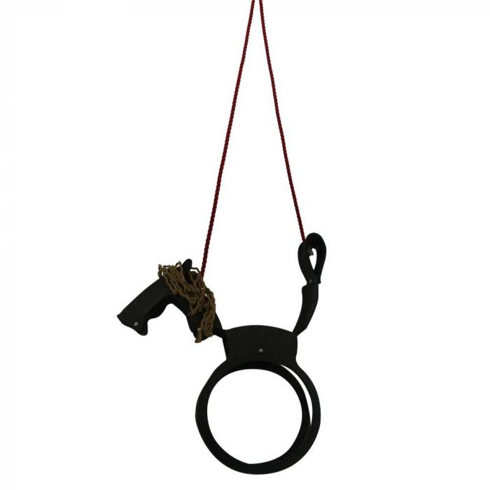 Stevige Paardenschommel Voor Kinderen Van Autoband Wickey Be