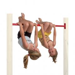 Barre de gymnastique en métal 125 cm