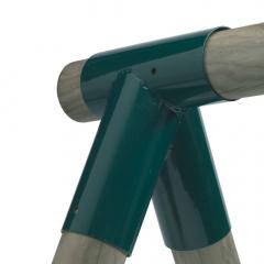 Schommelverbinder rond 80/100 mm