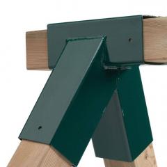 Schommelverbinder vierkant 90/90 mm
