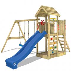 Aire de jeux Wickey MultiFlyer avec toit en bois