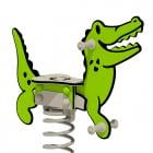 "Jeu sur ressort Wickey PRO crocodile ""Crockey"""